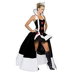 Adult Iracebeth The Red Queen Cosplay Costume Alice in Wonderland Sexy Red Queen of Hearts Halloween Party Gothic Fancy Dress Red Queen Costume, Queen Halloween Costumes, Queen Of Hearts Costume, Fancy Costumes, Adult Costumes, Costumes For Women, Game Costumes, Halloween Outfits, Halloween Party Kostüm