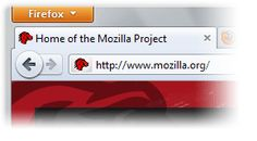 Firefox Button screenshot