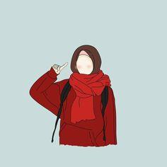 It's beautiful life. Girl Cartoon, Cartoon Art, Billie Eilish, Hijab Drawing, Sketch Note, Islamic Cartoon, Anime Muslim, Hijab Cartoon, Pics For Dp