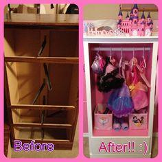 DIY... Dress up closet!