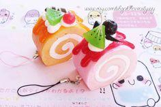 Oversize Kawaii Squish Yummy Swirl Cake Food by CharmsByIzzy, £3.50
