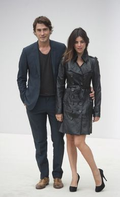 The epitome of cool. Julia Restoin-Roitfeld & Robert Konjic