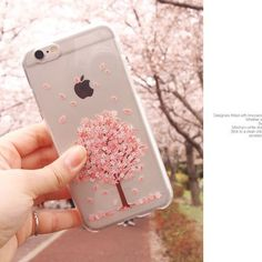 Cherry Blossom Clear Jelly Case LG G4 Case LG G3 Case 7 Types Case made in Korea | Cell Phones & Accessories, Cell Phone Accessories, Cases, Covers & Skins | eBay!