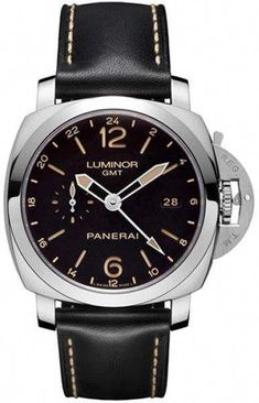 men watches Panerai Luminor Automatic Black Dial Black Leather Mens Watch - Men's style, accessories, mens fashion trends 2020 Panerai Luminor 1950, Panerai Watches, Men's Watches, Fashion Watches, Men's Fashion, Fashion Tips, Vintage Watches For Men, Luxury Watches For Men, Mens Watches Leather