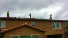 SolarCity install crews have too much fun... I guess they like to install solar for $0 down and save people money.