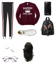 """simple ""go-to-cinemas"" outfit"" by angeline-mewengkang on Polyvore featuring Gucci, Converse and Urban Expressions"