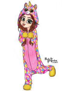 cute unicorn ever! Kawaii Girl Drawings, Bff Drawings, Cute Girl Drawing, Disney Drawings, Unicorn Drawing, Unicorn Art, Cute Unicorn, Unicornios Wallpaper, Beautiful Unicorn