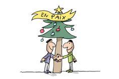 1 jour 1 question - vidéo animée pour les enfants - C'est quoi la trêve de Noël ? Dans la nuit de Noël, en 1914, les soldats allemands et français sont dans leurs tranchées. C'est la guerre. Et pourtant, le 25 décembre 1914, quelque chose d'exceptionnel va se passer : un moment de paix. Cette vidéo te raconte une histoire vraie.