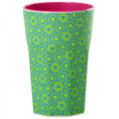 Becher aus Melamin, Marrakesh Print grün - Rice Denmark #coffee #mug #cup #printed #melamin