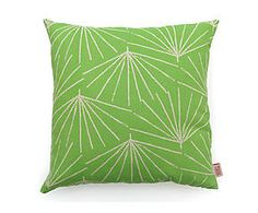 Kussenhoes Palmetto Pistachio, groen/wit, 50 x 50 cm