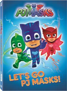 PJMasks: Lets Go PJ Masks (DVD)