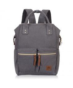 Stylish Doctor Style Multipurpose School Travel Backpack for Men Women -  Grey VGD - CW1857K93U4 1c0b468551c90