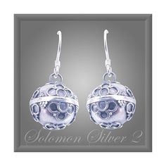 Sterling Silver Harmony Ball Earrings