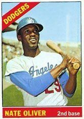 1966 Topps Regular (Baseball) Card# 364 Nate Oliver of the Los Angeles Dodgers VG Condition by Topps. $1.80. 1966 Topps Regular (Baseball) Card# 364 Nate Oliver of the Los Angeles Dodgers VG Condition