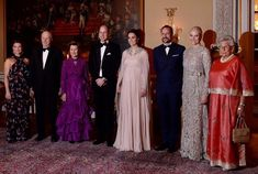 February 1, 2018, King Harald V of Norway and Queen Sonja of Norway held a state dinner at the Royal Palace of Oslo in honour of Prince William, Duke of Cambridge and Catherine, Duchess of Cambridge. Crown Prince Haakon, Crown Princess Mette Marit, Princess Astrid, Mrs. Ferner, Princess Martha Louise of Norway and members of government attended the gala dinner.