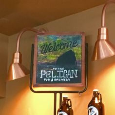 Definitely worth the 2 hour drive from Portland to check out Pelican Pub & Brewery right on the beach!