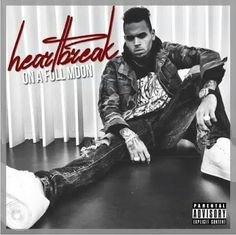 """Amazing! Singer Chris Brown Releases 45-track album """"Heartbreak On A Full Moon"""".Full List."""