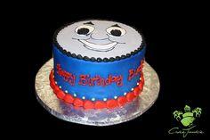 Thomas the Train Birthday Cake @Nicole Smith Gillman, Paxton needs this for his bday!!!