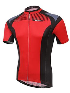 c71424f6d XINTOWN Bike Cycling Jersey   Tops Men s Short Sleeve Breathable    Ultraviolet… Bicycle Jerseys