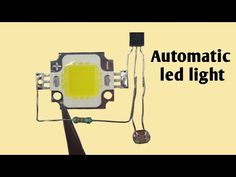Automatic street light with led Electronic Circuit Projects, Electronic Engineering, Electrical Engineering, Electronics Components, Diy Electronics, Electronics Projects, Led Projects, Electrical Projects, Electrical Symbols