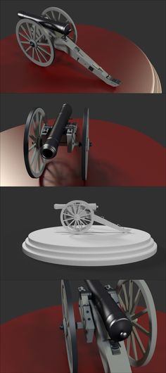 #3d model of #cannon artillery  #weapon made using #blender3d https://www.youtube.com/watch?v=rvfFr8vJEv8