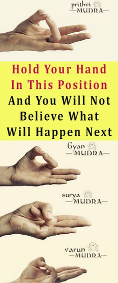 Hold Your Hand In This Position And You Will Not Believe What Will Happen Next #health #diy #fitness #beauty