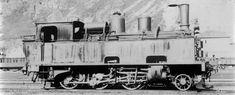 Dampflocomotive Ec 3/4 Nr. 189 (bis 1895 Nr. 89) der Gotthardbahn, gebaut 1883 inn der Schweizeriſchen Locomotiv- und Machines-Fabrique zů Winterthur (Fabr.-Nr. 332); 1909 unter der Betribsnummer 6589 von den Schweizeriſchen Bundesbahnen übernommen, 1928 außer Dienſt geſtellt und anſchließend abgebrochen.