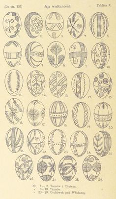 Pisanki - the decorated Easter eggs in Poland - century examples Here you'll find informations about Polish pisanki (decorated Easter eggs): Short history 8 types of Polish Easter eggs Patterns Gallery of Polish pisanki Egg Crafts, Easter Crafts, Bunny Crafts, Easter Decor, Easter Ideas, Psychedelic Quotes, Polish Easter, Easter Egg Pattern, Polish Folk Art