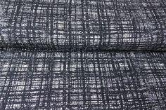 Weiteres - Jersey Viskose schwarz/weiß   0,50 x 1,60m - ein Designerstück von LisanellaStoffe bei DaWanda
