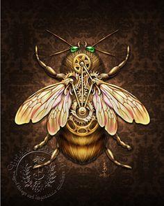 Brigid Ashwood - Steampunk Insects