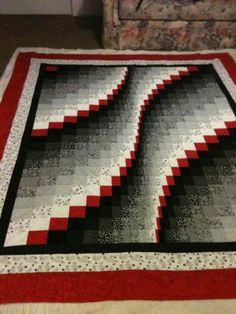 Bargello Wave Quilts - love the Bargello look, and want to make this style of quilt.
