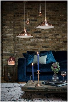 Shat a difference furnishings can make!  Chic feminine warehouse home | Daily Dream Decor
