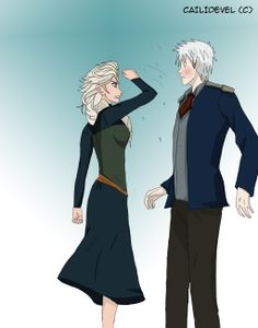 """Jelsa - It's because of her you are even alive by CaiLiDeVeL.deviantart.com on @deviantART /~/ """"I don't cause commotions, I *am* one."""" /~/"""