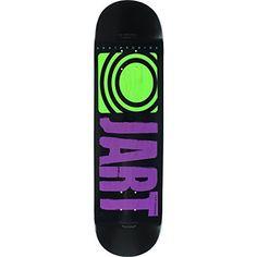 "Jart Skateboards Classic Purple Skateboard Deck – 8.25″ x 32.18″ with Jessup Grip Tape – Bundle of 2 items: Deck Size: 8.25"" width x 32.18""…"