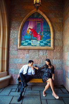 Disneyland Engagement Photos: Sharon + Brian