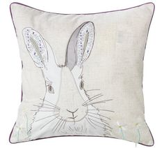 Buy Heart of House Rene Rabbit Cushion at Argos.co.uk, visit Argos.co.uk to shop online for Cushions, Home furnishings, Home and garden Stock Clearance, Argos, Home Furnishings, Rabbit, Cushions, Home And Garden, Throw Pillows, Heart, House