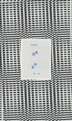 The Experiment of Moire Pattern.  Riso Printing