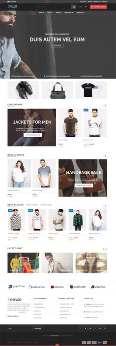 Teemo - Responsive WooCommerce WordPress Theme