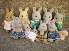 Maple Town :) Loved these, the bunnies were my favorite!