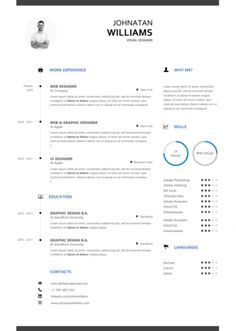 Download Modern Resume Templates In Ms Word Modern Professional