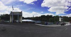Busy busy lunchtime @lakesidearts and @mynottingham Highfields Park