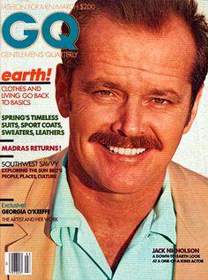 1981 jack sporting the porn moustach The GQ Cover Portfolio: The Magazine: GQ