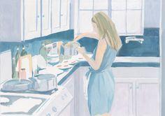 copy of ' Somewhere ' - Megumi Goto Illustration : 後藤恵イラストレーション