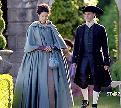 Jamie & Claire from the Outlander series - henricavyll: Outlander Season 2 | Claire's...