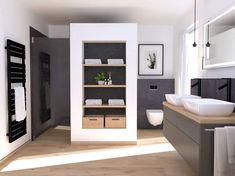 Exterior Design, Interior And Exterior, Happy New Home, Up House, House Goals, Bathroom Renovations, Sweet Home, New Homes, Bathtub
