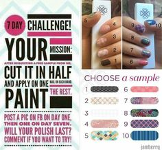 Try the 7 day challenge with me! http://itsawrapwithamber.jamberry.com