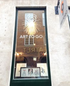 C9 ART TO GO Gallery window view