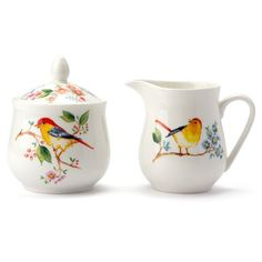 Peter's of Kensington | Ashdene - Tree Of Life Sugar & Cream Jug