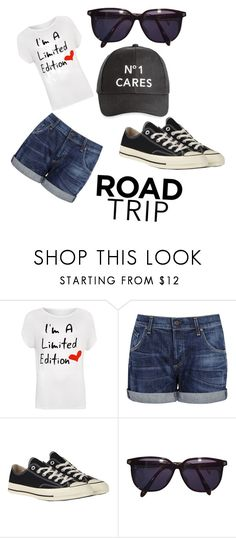 """""""Road Trip"""" by emosayshi ❤ liked on Polyvore featuring WearAll, Citizens of Humanity, Converse, Sonia Rykiel, Ashley Stewart and plus size clothing"""