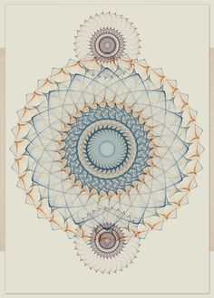 Illustration by Cristian Boian Sacred Geometry <3